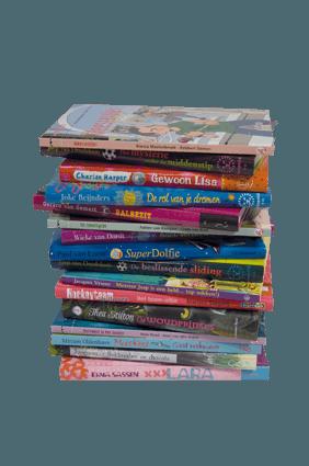 aanvullen kinderboeken voor schoolbieb